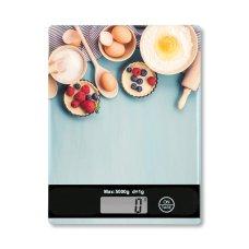 Ζυγαριά Κουζίνας Ηλεκτρονική Γαλάζια Kesper