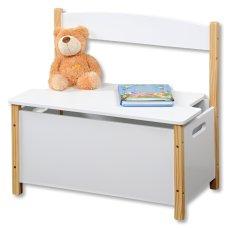 Παιδικό Κάθισμα Δωματίου Με Αποθηκευτικό Χώρο Λευκό Kesper