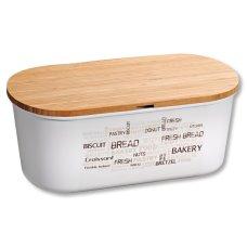 Ψωμιέρα Λευκή Kesper Bamboo Fiber