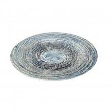 Πιατέλα Στρογγυλή Espiel GreyBlue Cirles 33cm