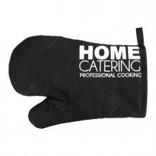Γάντι Κουζίνας Μαύρο Gusta Home Catering