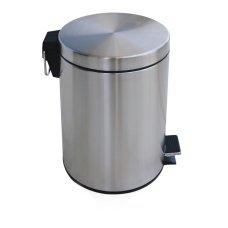 Δοχείο Πεντάλ / Καλαθάκι Μπάνιου Ανοξείδωτο 7L