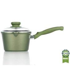 Κατσαρόλα Γάλακτος Χυτού Αλουμινίου Dr Green Risoli