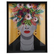 ΚΟΡΝΙΖΑ LADY FLOWERS 28x36Ycm MULTI