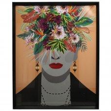 ΚΟΡΝΙΖΑ LADY FLOWERS 40x50cm MULTI
