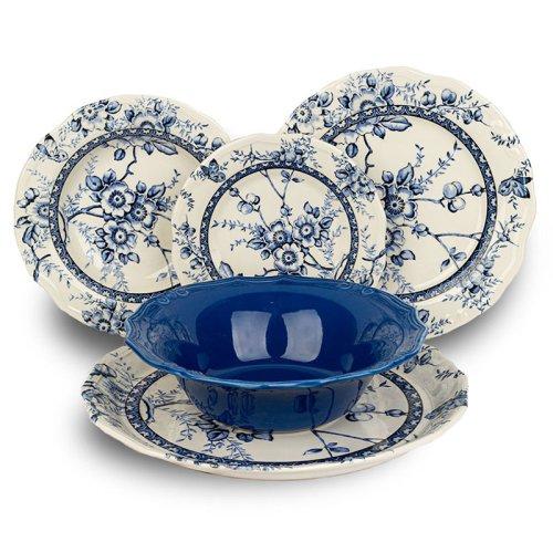Σετ Πιάτα Tiffany Blue 20 Τεμαχίων Oriana Ferelli