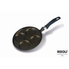 Τηγάνι Risoli Pancake 4 θέσεων 25cm